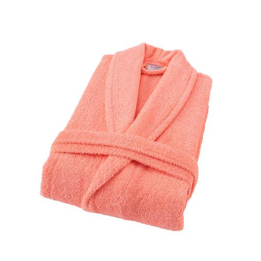חלוק רחצה מגבת אפרסק