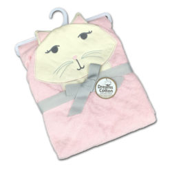 מגבות תינוק חיבוקי קפוצ'ון חתולה