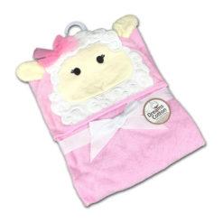 מגבות תינוק חיבוקי קפוצ'ון כבשה