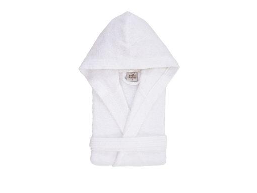 חלוקי מגבת לילדים לבן